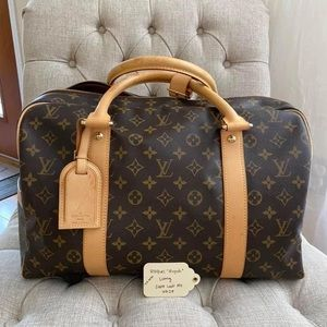 Louis Vuitton carryall bag